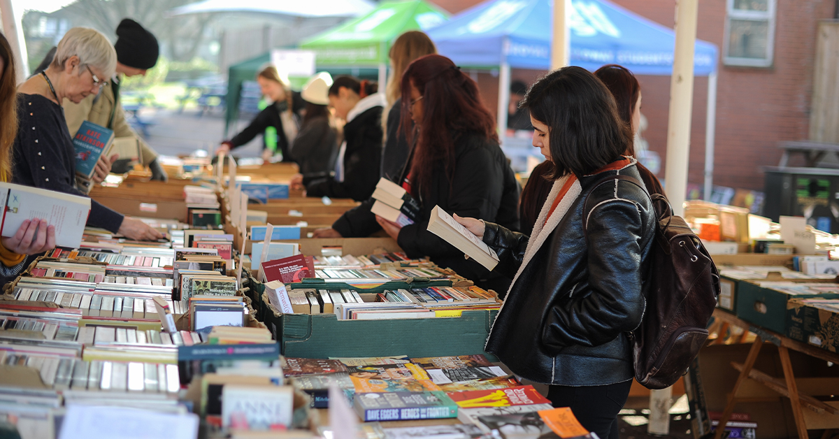 Image of book stall