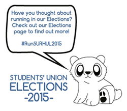 Have you thought about running in our Elections? Check out our Elections page to find out more! #RunSURHUL2015